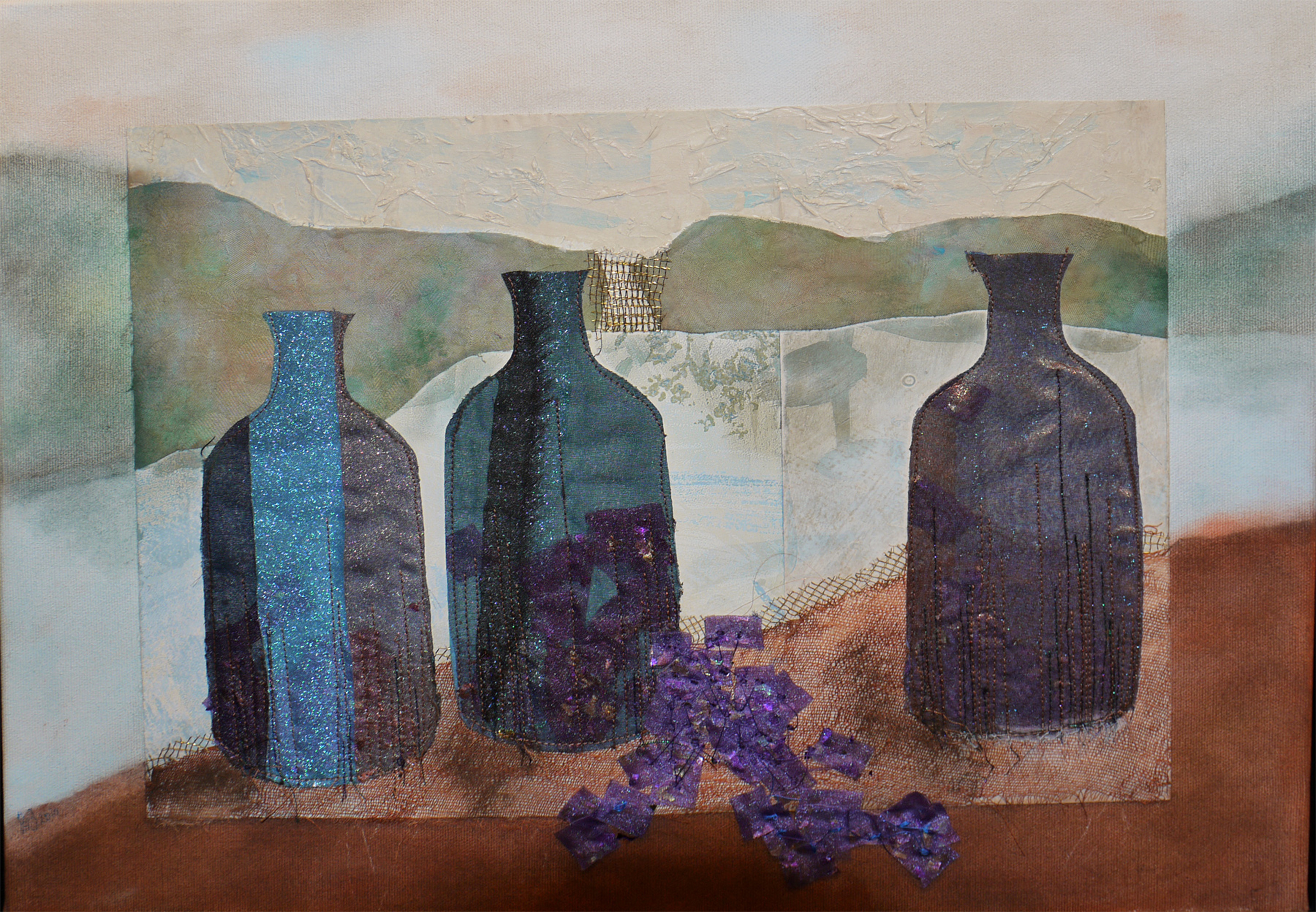 Bottles by Barbara Gilbert