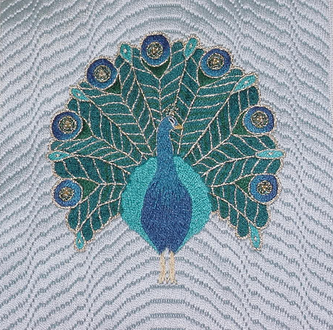 Peacock by Susan Harrington