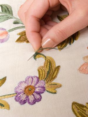 needlework stitching